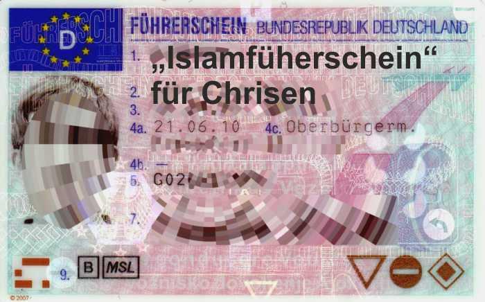 """""""Islam-Führerschein"""", was ist das?"""
