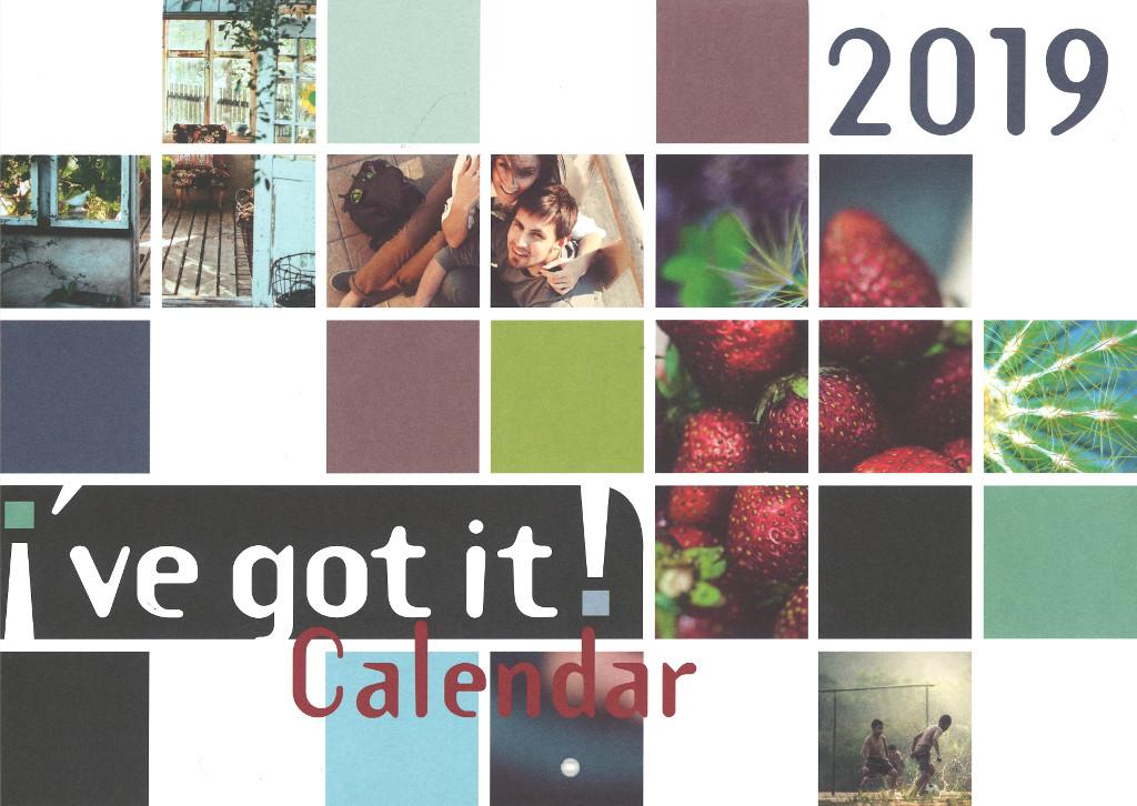 Cover vom Ich habs! Kalender in Englisch