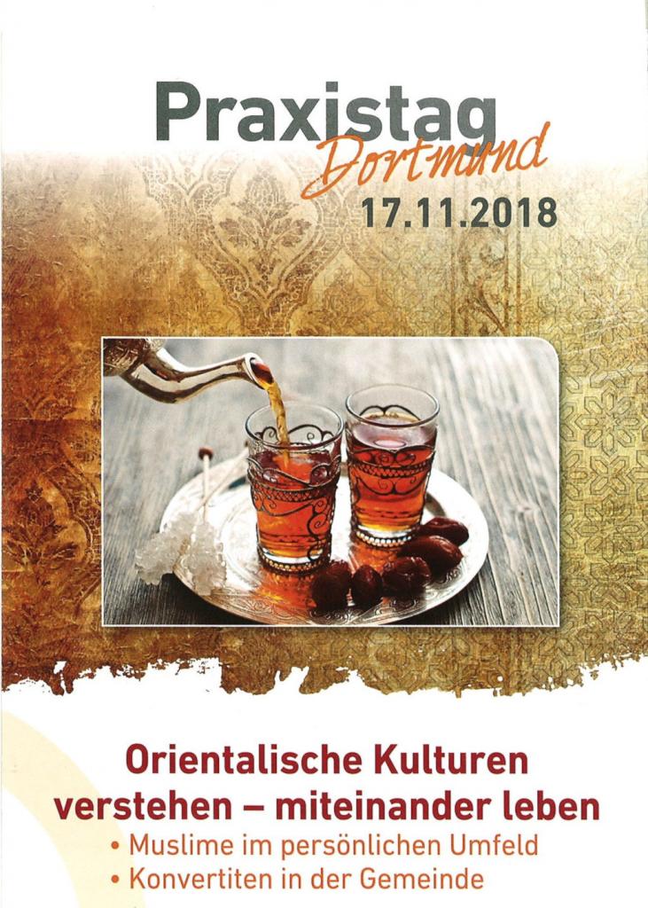 Flyer zum Praxistag in Dortmund 2018