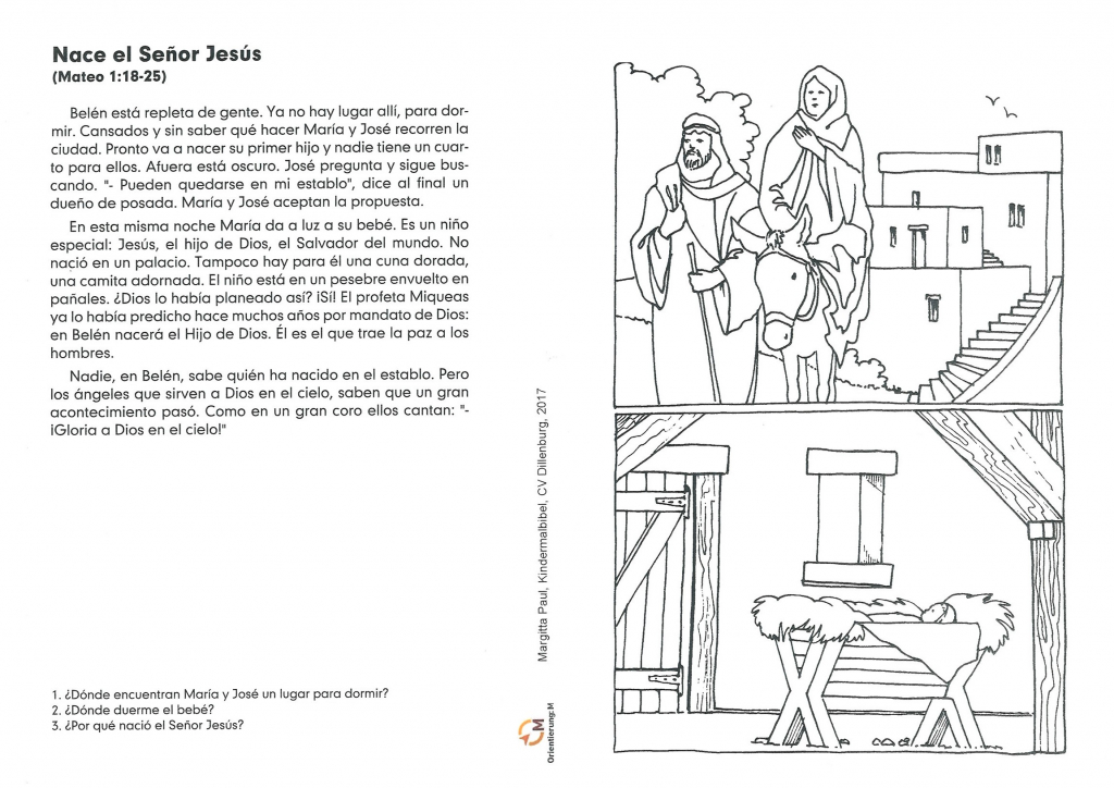 Kindermalbibel spanisch