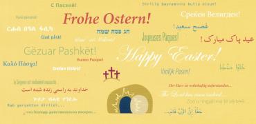Karte Frohe Ostern