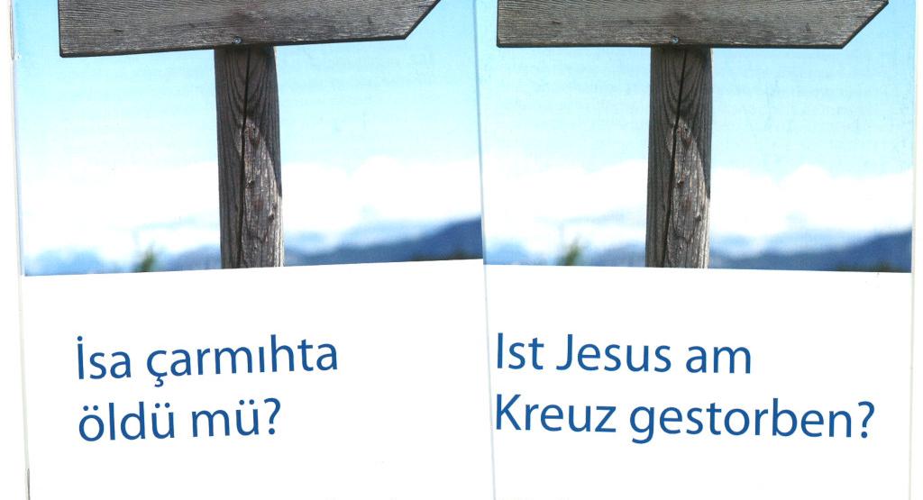 Ist Jesus am Kreuz gestorben? In Türkisch und Deutsch