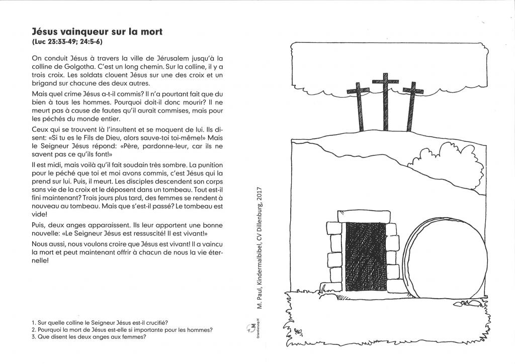Kinder-Mal-Bibel Französisch