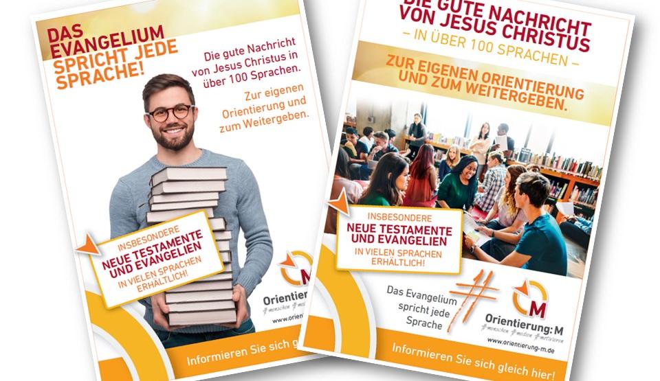 Plakate für Ihren Büchertisch