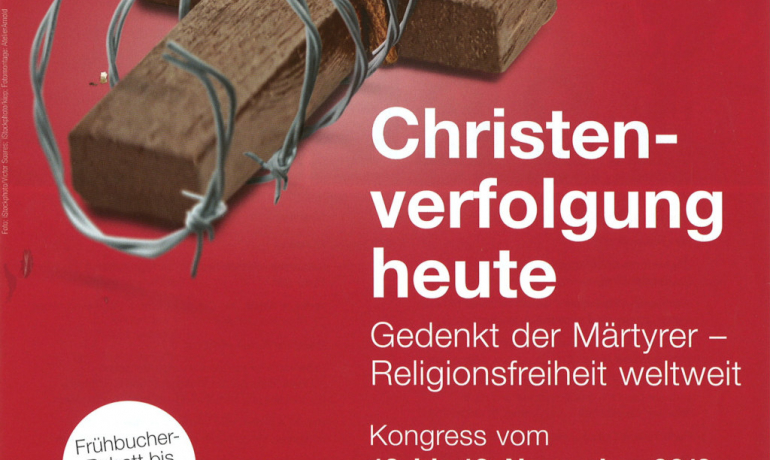 "Kongress ""Christenverfolgung heute"""