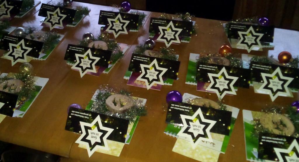 Weihnachten im Café Oase
