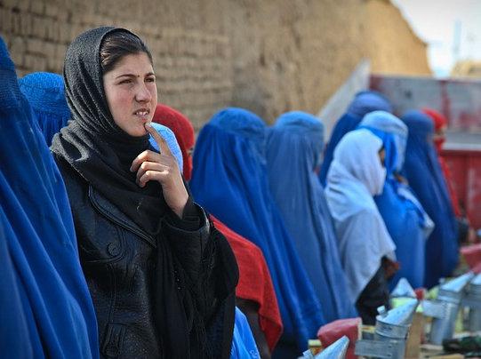 Im Land der blauen Burkas