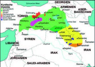 Die Kurden, ein Volk – viele Sprachen